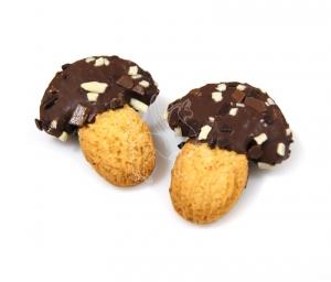Funghetto ai tre cioccolati