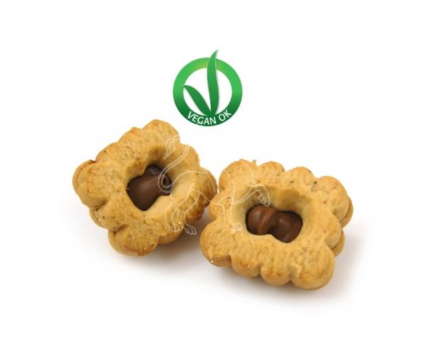 Quadratino tre farine | Hazelnut & cocoa